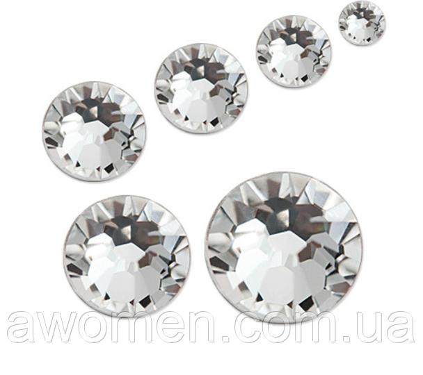 Кристаллы серебро 1440 штук, 1.3 мм