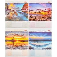 Тетрадь цветная 36 листов,линия «Пейзажи»