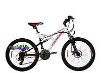 """Горный велосипед для подростков Azimut Blaster GD 24"""""""