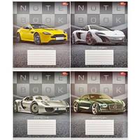 Тетрадь цветная 36 листов,линия «Престижные авто»