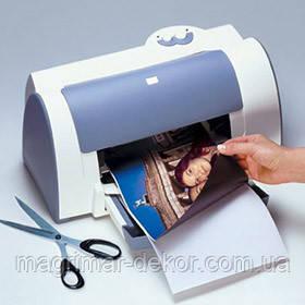 Магнитная фотобумага 10х15см глянцевая/матовая