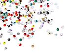 Кристаллы 1440 штук, 1.3 мм (разноцветные), фото 2