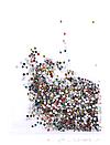 Кристаллы 1440 штук, 1.3 мм (разноцветные), фото 3