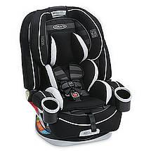 Детское автокресло Graco 4EVER ALL-IN-1, вес от 2 до 54 кг, Rockweave черный (серый), фото 3