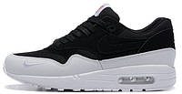 Мужские кроссовки Nike Air Max 1 The 6 Toronto (найк аир макс) черно-белые