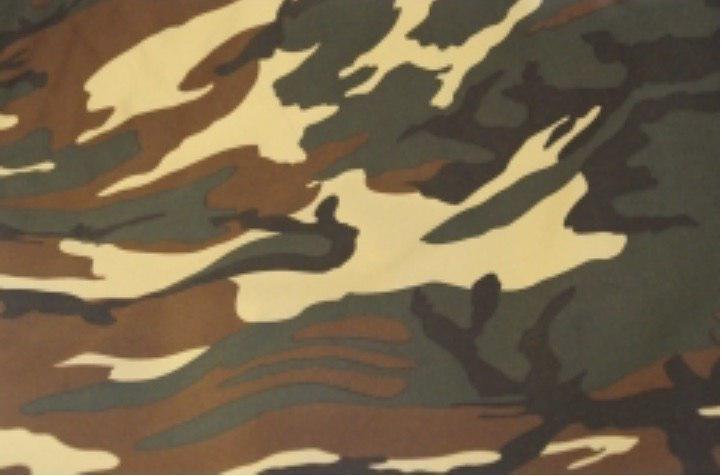 Синтетическая ткань НАТО (Woodland Pattern) камуфляж
