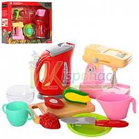 Набор бытовой техники 58000-9, чайник, миксер, посуда, продукты