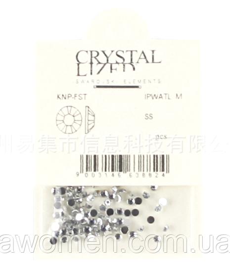 Камни 1,5 мм серебро