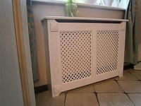 Экраны на чугунные батареи отопления, решетки деревянные., фото 1