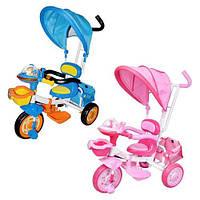 Велосипед детский трехколесный для девочки и для мальчика разные расцветки VD1