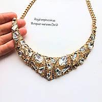"""Ожерелье """"Алмаз"""", массивное."""
