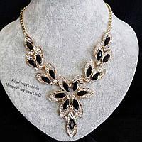 """Ожерелье """"Лотос"""",нежное и аккуратное."""