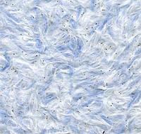 Жидкие обои № Ст 44 шелк белый, синий