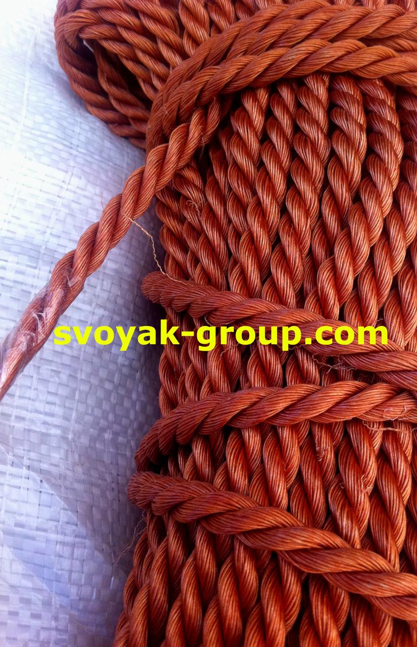 Мотузка кордова крученная - 10 мм./50 м.