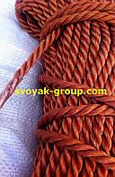 Веревка кордовая крученная - 10 мм./50 м.