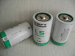 Литиевая батарея SAFT LS33600( D Size) 3,6В; 17000 мАч, Li-SOCl2