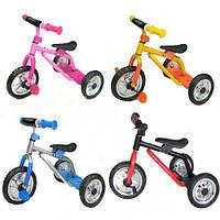 Велосипед трехколесный велосипед детский 0688-2 Profi Trike