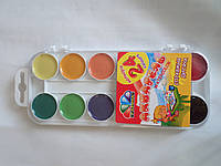Акция!!! Акварельные краски Гамма 24 цвета медовая полусухая!  312060 Гамма