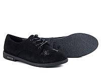 Женская осенняя обувь. Туфли на шнуровке оптом от фирмы Башили 456-29 (6пар 36-40)