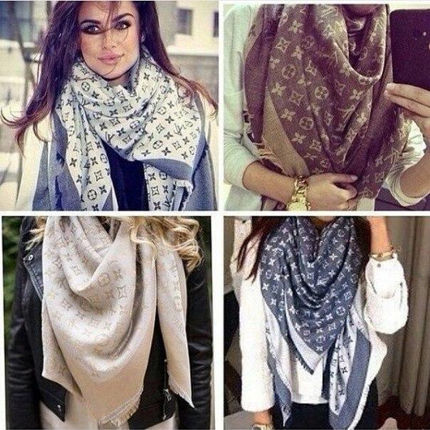 Женские палантины,шарфы louis vuitton
