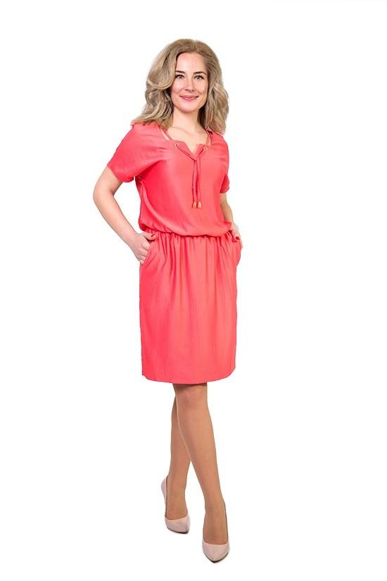 Женское летнее платье шелк