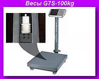 Весы электронные торговые 100кг с усиленной платформой 30х40см YZ-909-G7S-100kg