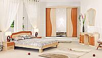 Спальные гарнитуры  серии Волна