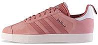 Женские кроссовки Adidas Originals Womens Gazelle Raw Pink