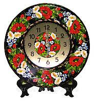 Часы настенные/настольные расписанные вручную
