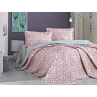 Набор постельного белья с покрывалом Clasy - Bosarti бежевый евро