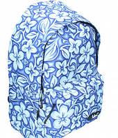 Ранец-рюкзак Safari молодежный 2 отделения сине-коричневый 97022