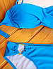 Купальник бандо с двойным пуш-ап и кольцами, фото 2