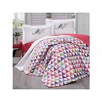 Набор постельного белья с покрывалом Clasy - Parveen красный евро