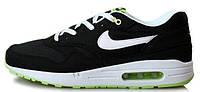 Мужские кроссовки Nike Air Max 87 (найк аир макс 87) черные/белые