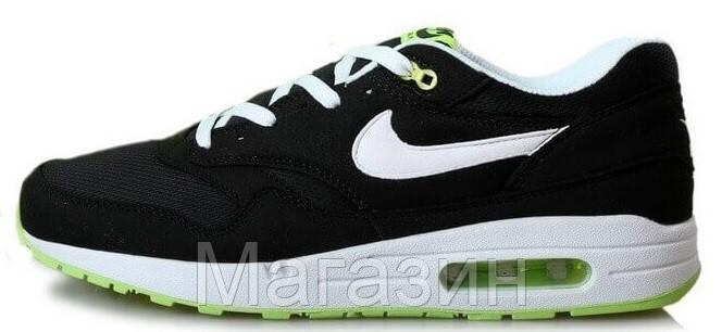 4ac394876871 Мужские Кроссовки Nike Air Max 87 (в Стиле Найк Аир Макс 87) Черные ...