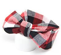 Детская повязка  с бантом  на голову, для девочки