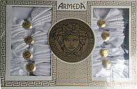 """Скатерть на 8 персон с кольцами для салфеток """"Armeda"""""""