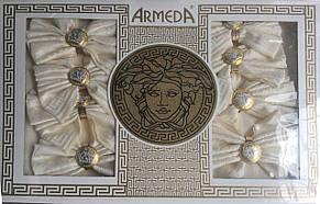 Скатерть на 8 персон с кольцами для салфеток Armeda, фото 2