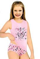 Комплект нижнего белья для девочки: маечка и трусики! ots 8509