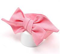 Детская повязочка  с бантом  на голову, для девочки