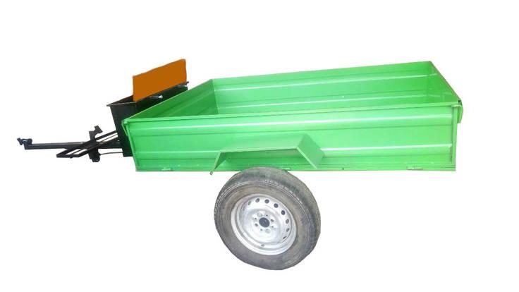 Прицеп для мотоблока (1,3х1,8 м), фото 2