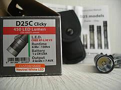 Фонарь EagleTac D25C clicky XP-L Hi neutral white LED