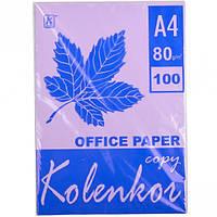 Бумага для ксерокса, А4 100 листов 80г/м² насыщенная TARO