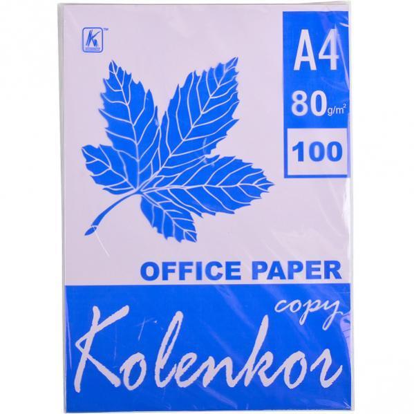 Бумага для ксерокса, А4 100 листов 80г/м² пастель LAVENDER