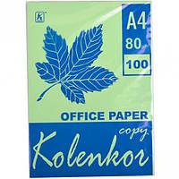 Бумага для ксерокса, А4 100 листов 80г/м² пастель LAGOON