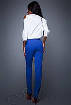 Женская рубашка с открытыми плечами (Бриллиjd), фото 2