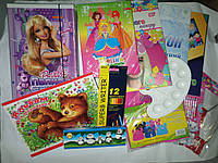 Комплект первоклассника для девочки, набор канцелярии эконом