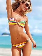 Полосатый купальник от Victoria`s Secret оригинал XS
