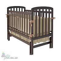 Детская кроватка Woodman Teddy, маятник Орех