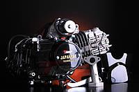 Двигатель АЛЬФА Дельта-125 алюминиевый цилиндр механика чёрный NEW, фото 1